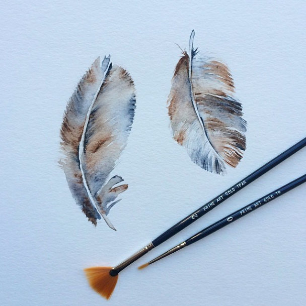 © Feathers by Renée Nesbitt