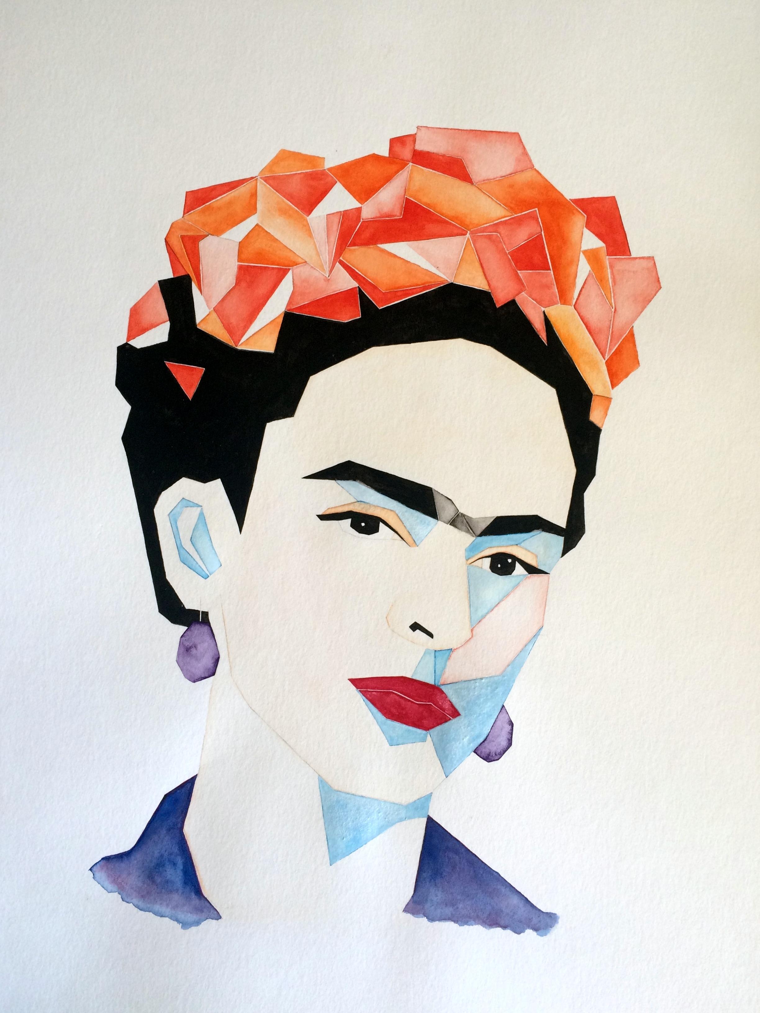 © Frida Kahlo I by Renée Nesbitt