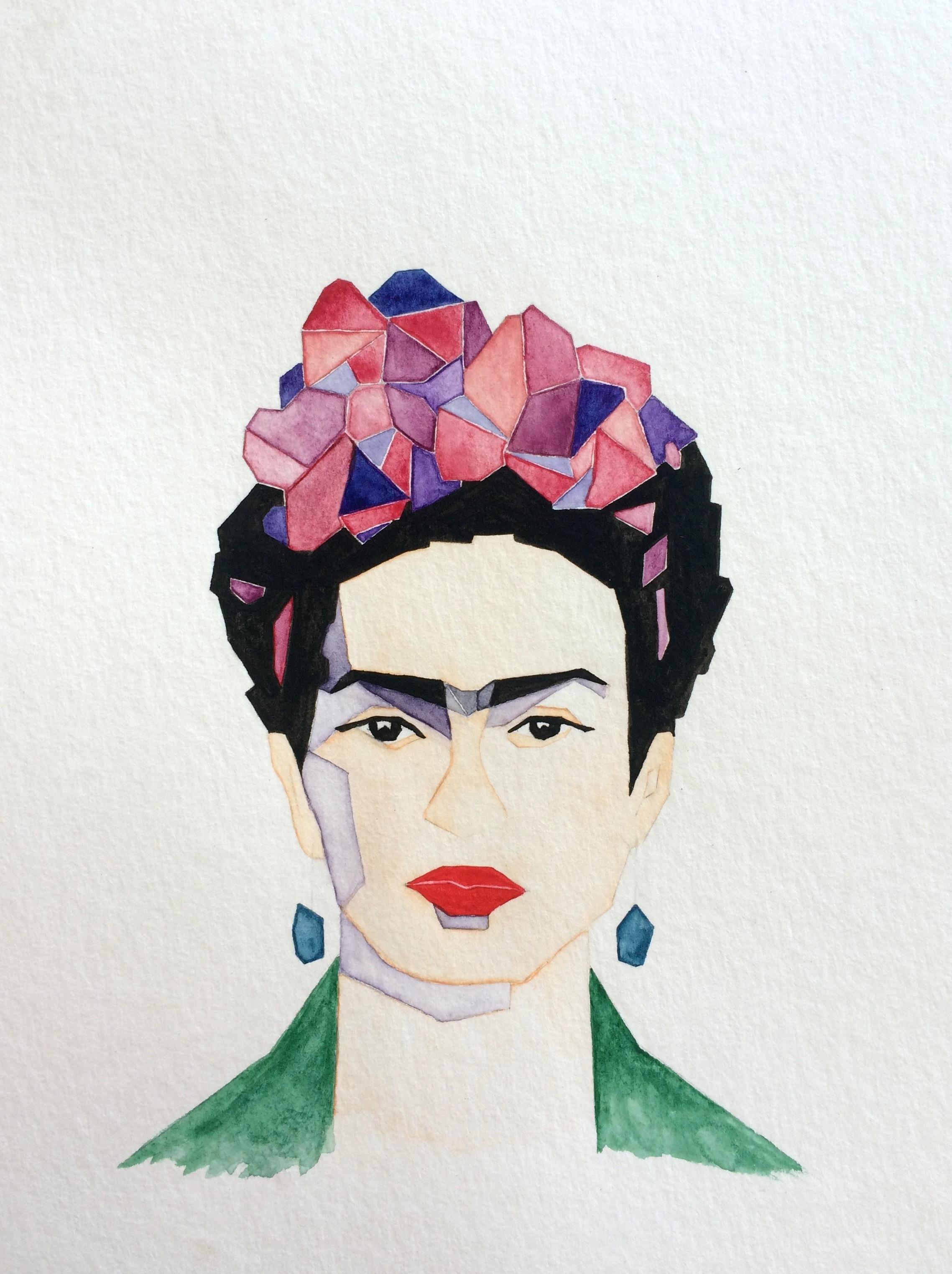 © Frida Kahlo II by Renée Nesbitt