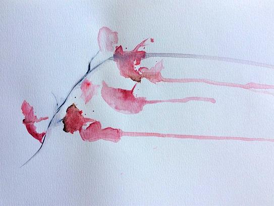 © Cherry Blossoms by Renée Nesbitt